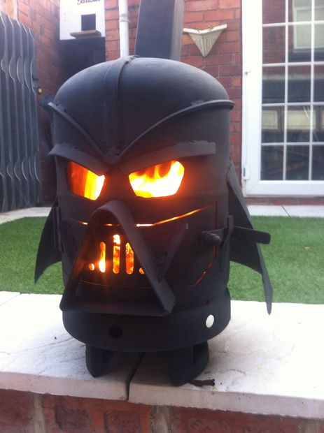 How-To: Darth Vader Stove