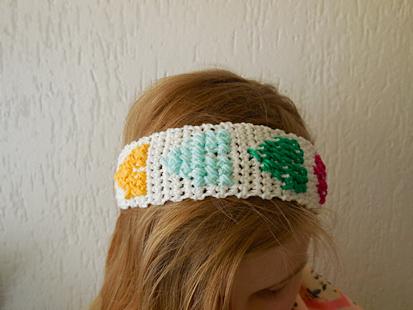 How-To: Crocheted Hook 'n Stitch Headband