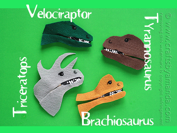 How-To: Clothespin Dinosaurs