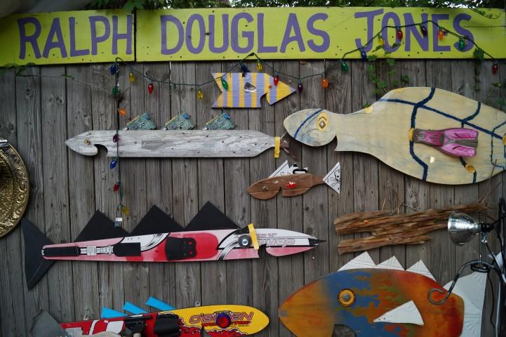 The Happy Fish of Ralph Douglas Jones