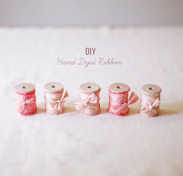 How-To: Hand-Dyed Silk Ribbon in Custom Colors