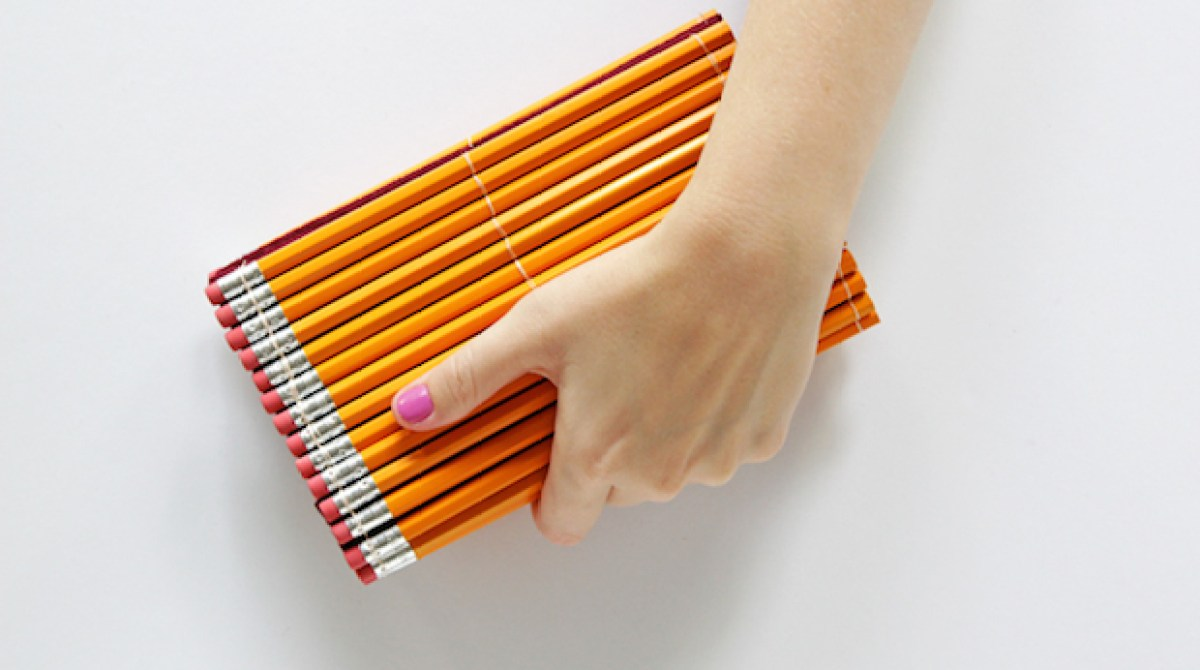 How-To: DIY Pencil Clutch