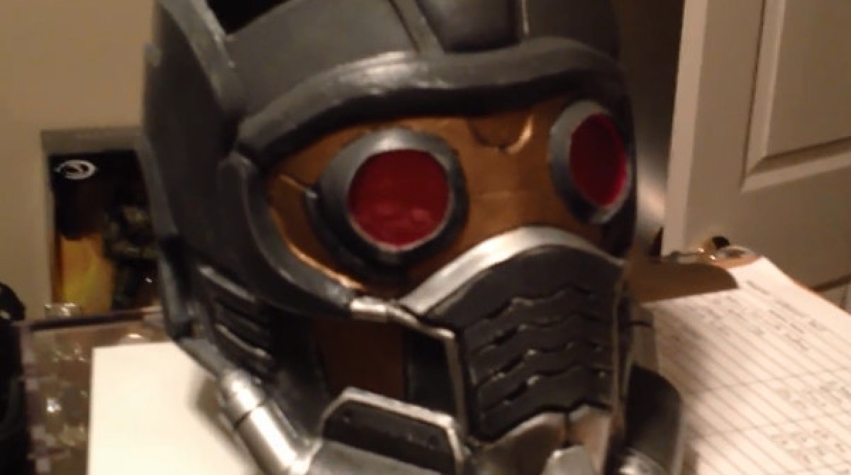 Make your own Star Lord Helmet From Guardians Of The Galaxy
