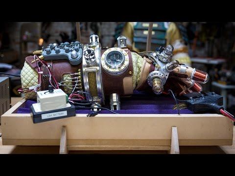 Adam Savage Recreates Rasputin's Mecha-Glove from Hellboy