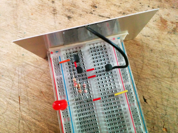 Detecting Electrons with Weekend Projects