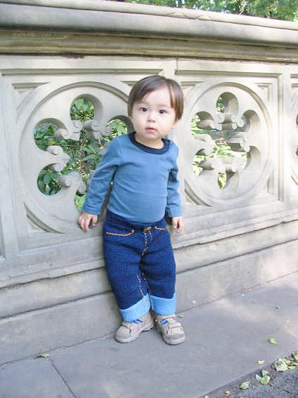 Knit Baby Jeans Pattern