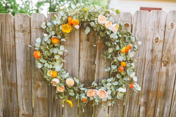 How-To: Fresh Flower Wreath