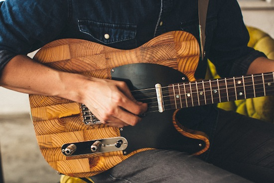Upcycled Guitars Made From Abandoned Homes