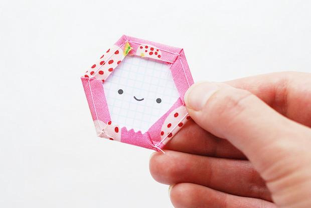 Printable Happy Hexagon EPP Templates