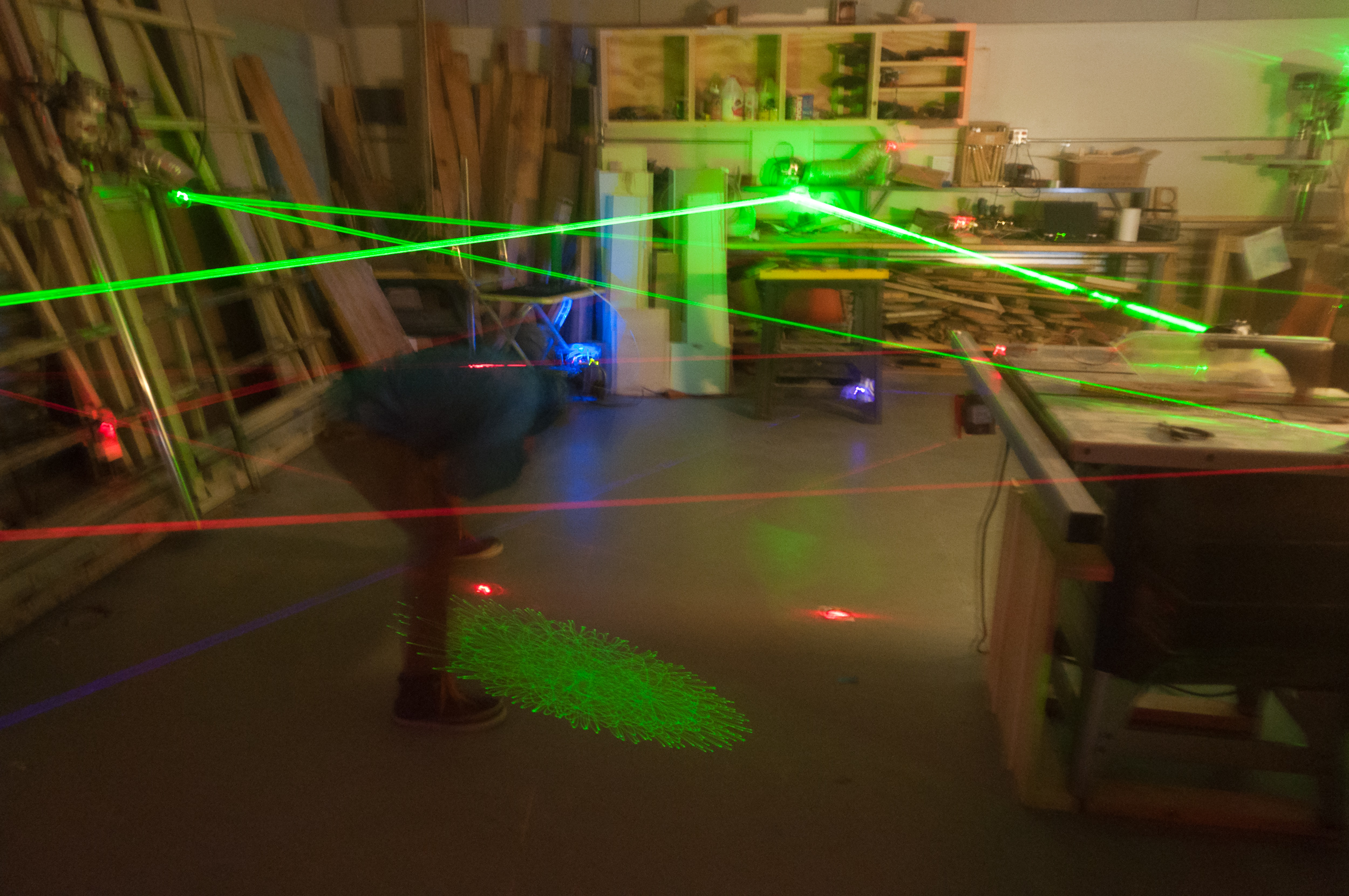 Go to the Milwaukee Maker Faire and Solve the Laser Maze