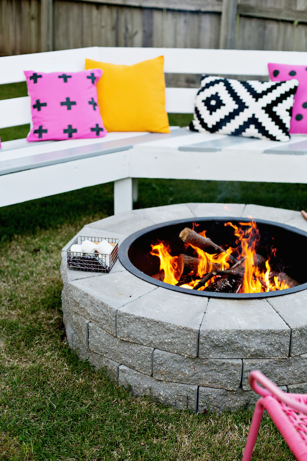 Build it: Make Your Own Backyard Fire Pit