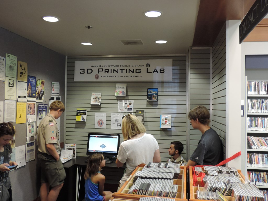 Eagle Scout Project 3D Printing In A Public Library  Make