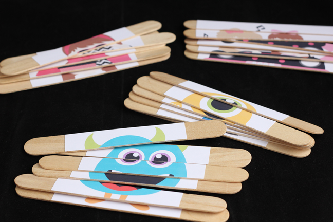 How-To: Craft Stick Puzzles