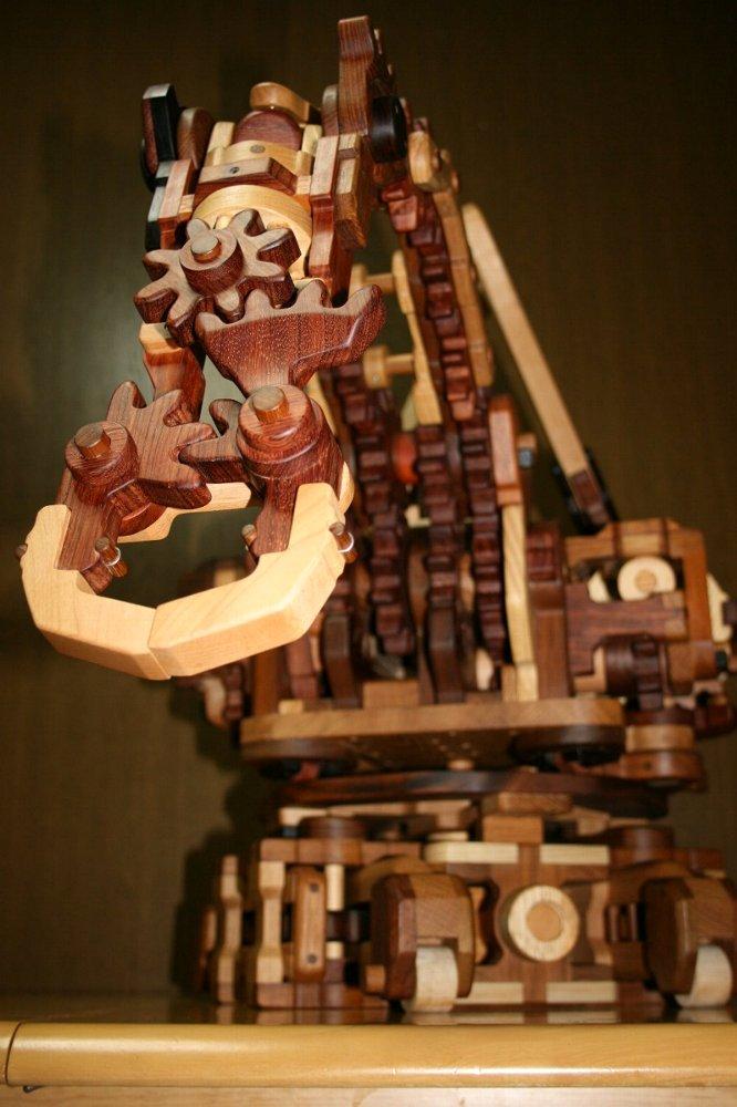 Artisan Wooden Robotic Arms