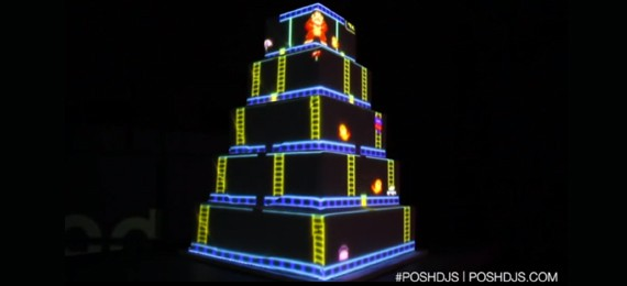 Projection Mapping Wedding Cakes Make