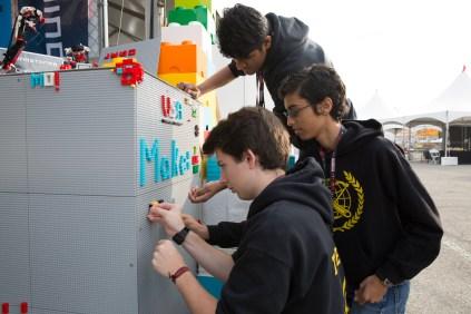 Autodesk's DIY LEGO wall