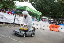 Moxie race for Power Wheels Racing: Doc and Marty from Back to the Future