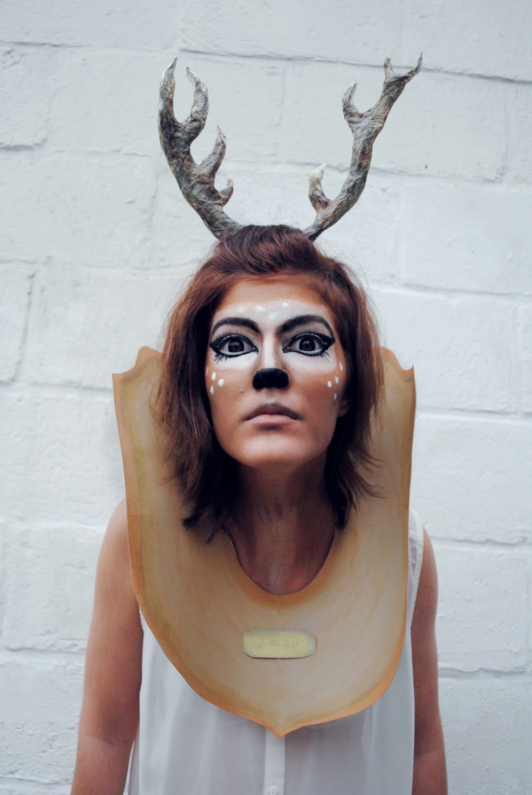 Taxidermy Deer Head Costume