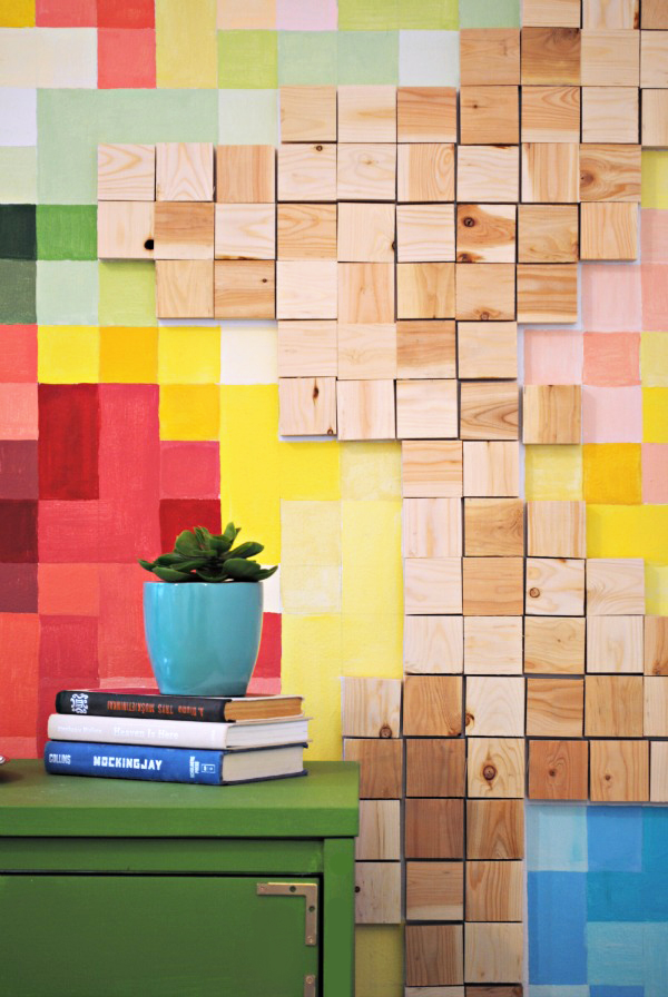 How-To: Pixelated Wall