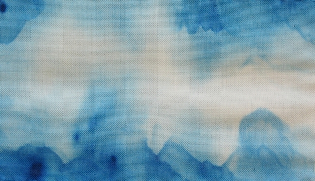 How-To: Watercolor Fabric Painting