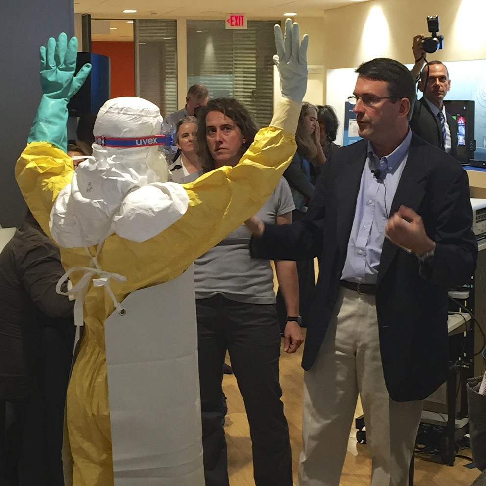 Makers Against Ebola – Personal Protection Equipment