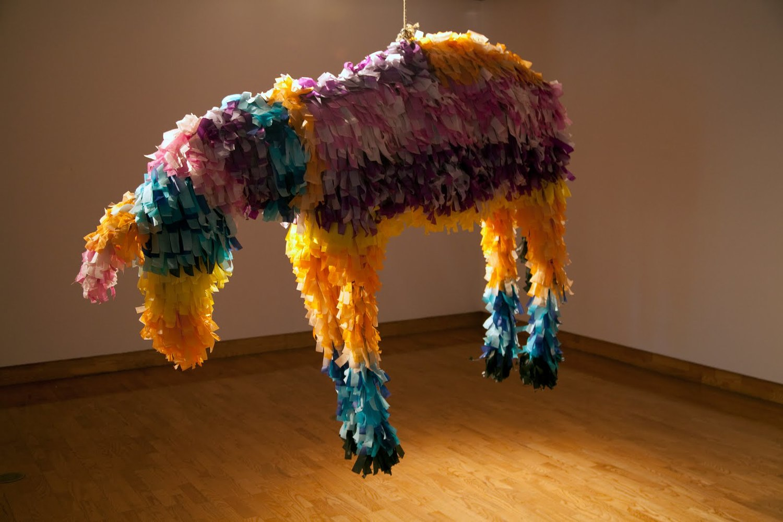 Justin Favela's Enigmatic Piñatas