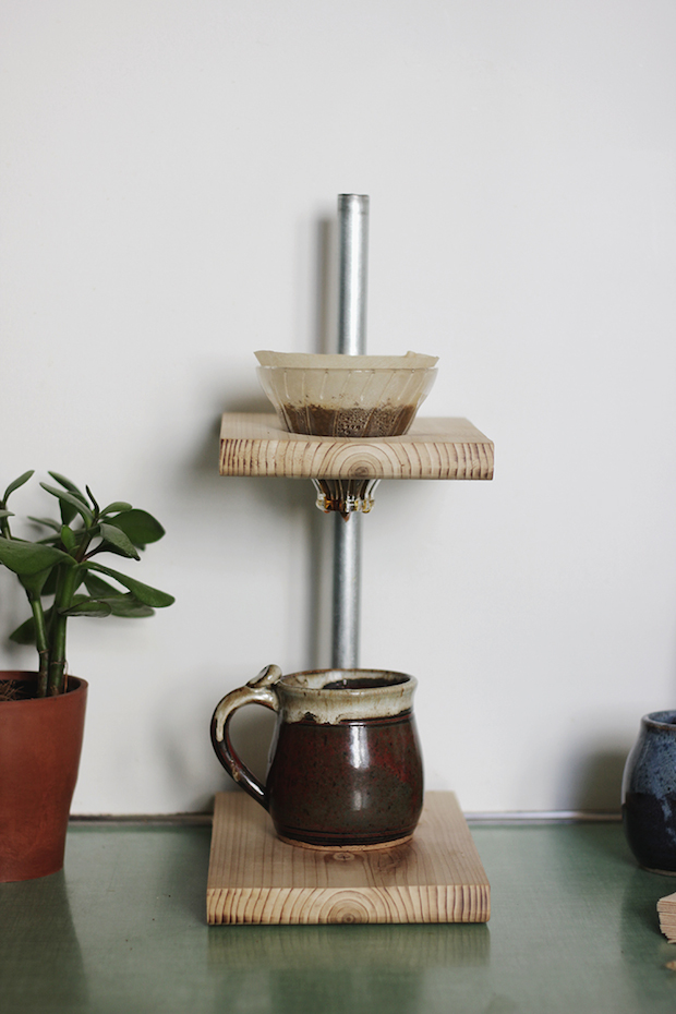 How-To: DIY Pour-Over Coffee Stand