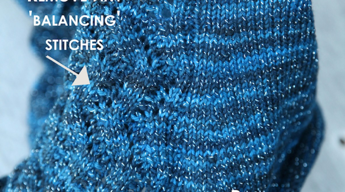 Knitting Tip: Converting a Flat Pattern to In the Round   Make: