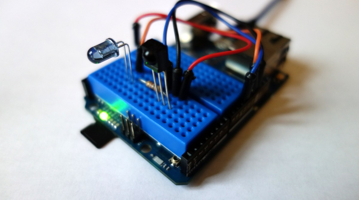 Smart Remote Control Doubles as Super Simple IR Sniffer | Make: