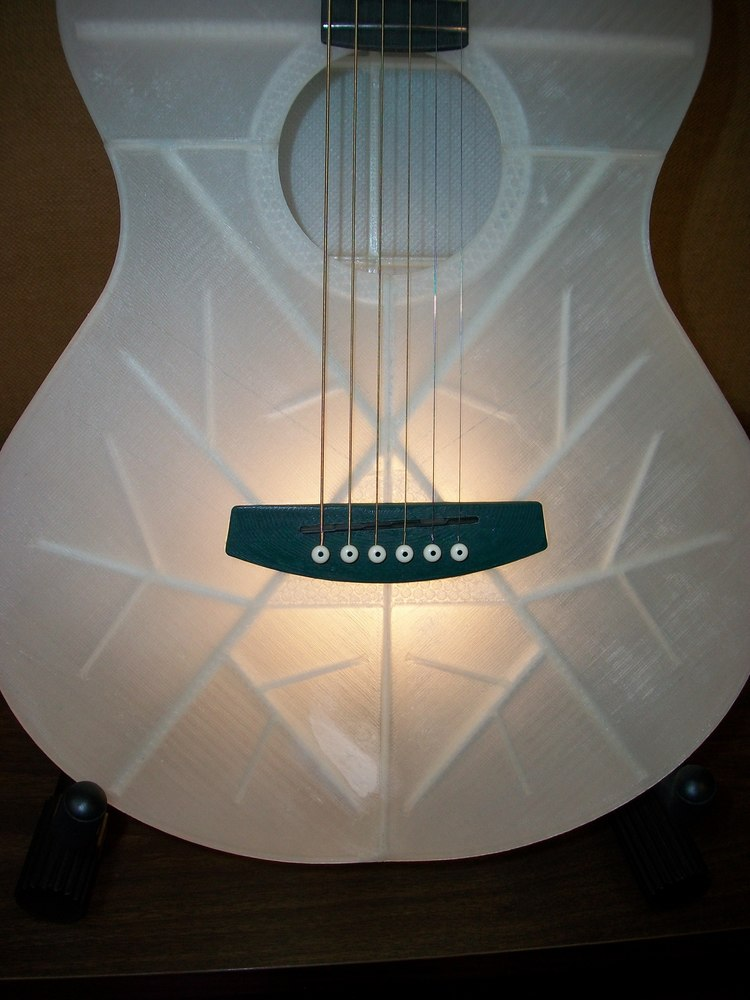 A Working 3D Printed Guitar