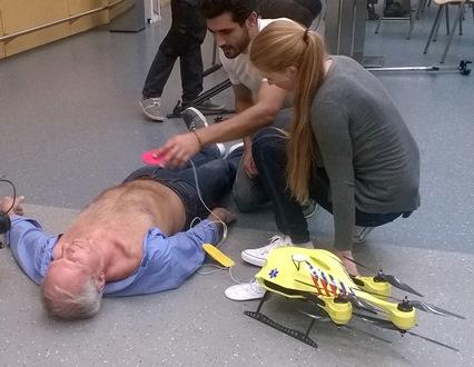 Ambulance Drones Could Change The Future For Cardiac Arrest Patients