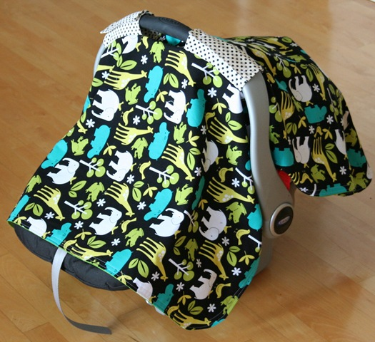 How-To: Baby Carseat Cover