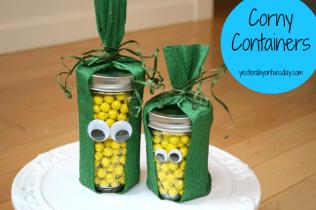 Mason Jar Corny Containers( Link)