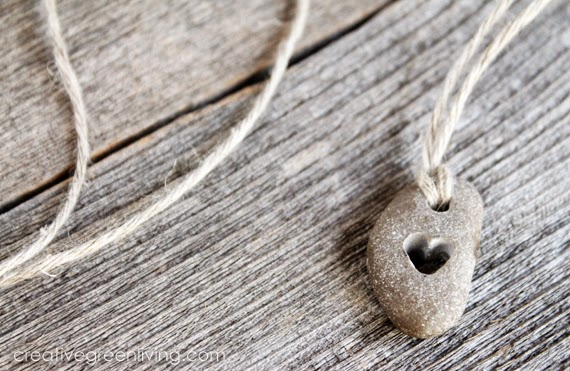 How-To: Carved Heart Stone Jewelry