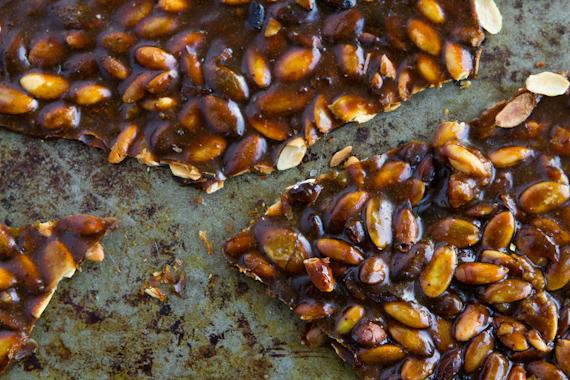 Recipe: Spiced Pumpkin Seed Brittle