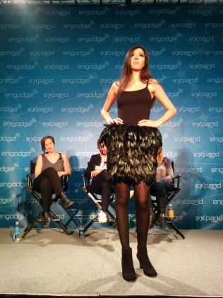 Birce Ozkan's Augmented Skirt