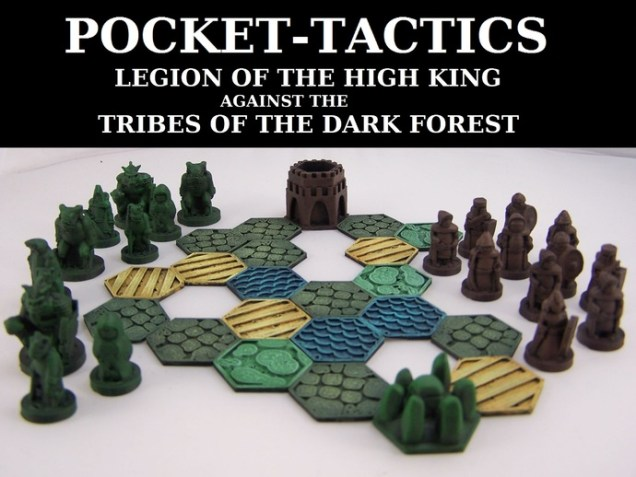 Pocket-Tactics: Legion of the High King against the Tribes of the Dark Forest