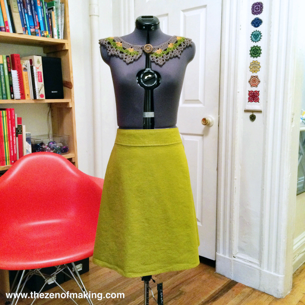 Tips For Giving Your A-Line Skirt A More Flattering Fit