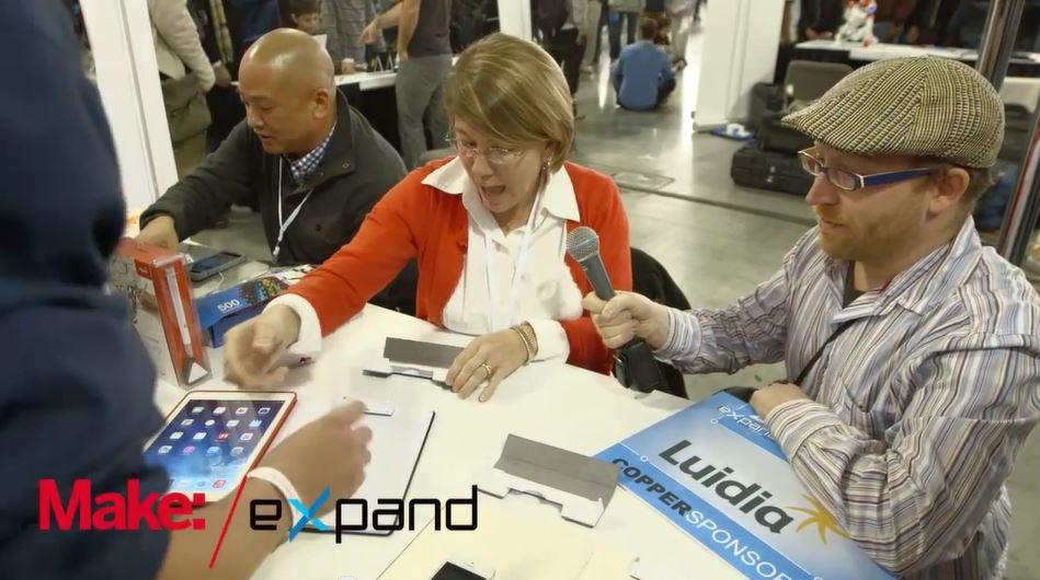 Engadget Expand: Luidia Smart Pen
