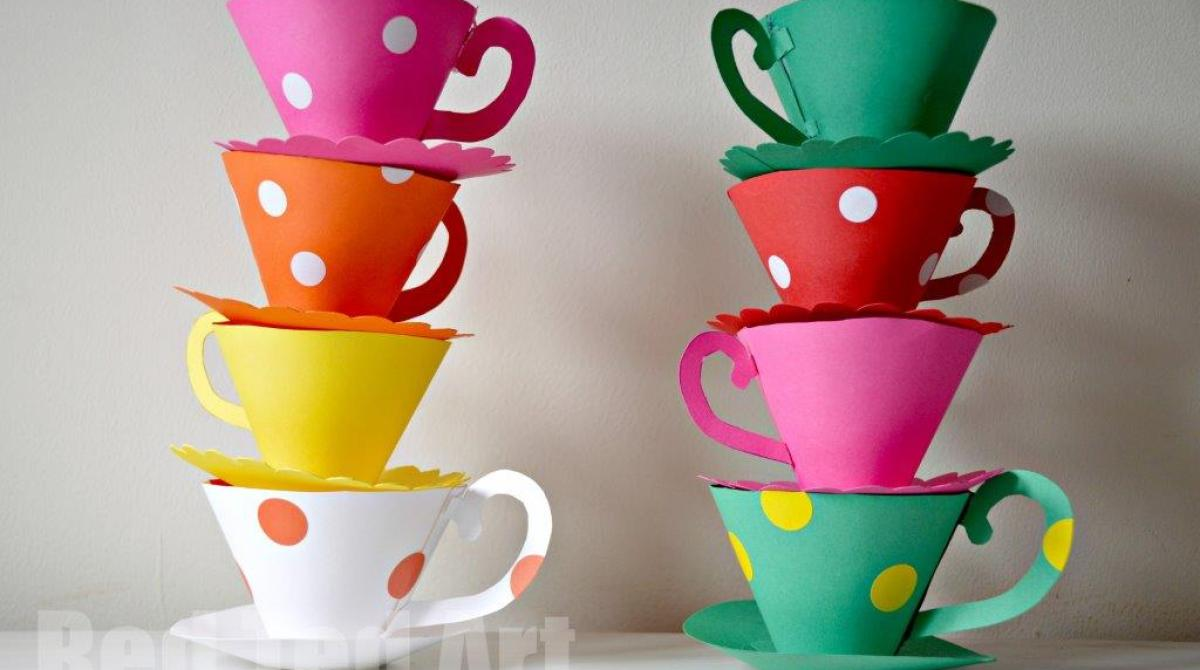 How-To: Paper Teacup Party Games
