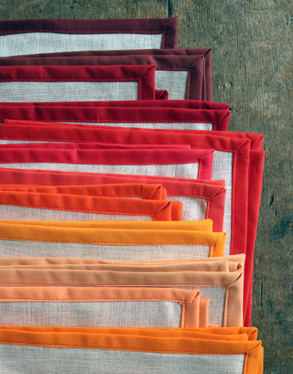 How-To: Thanksgiving Linen Napkins