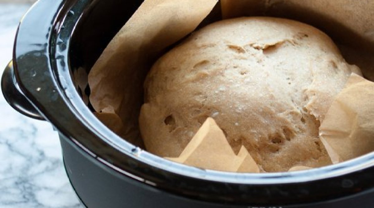 Make Bread in the Slow Cooker