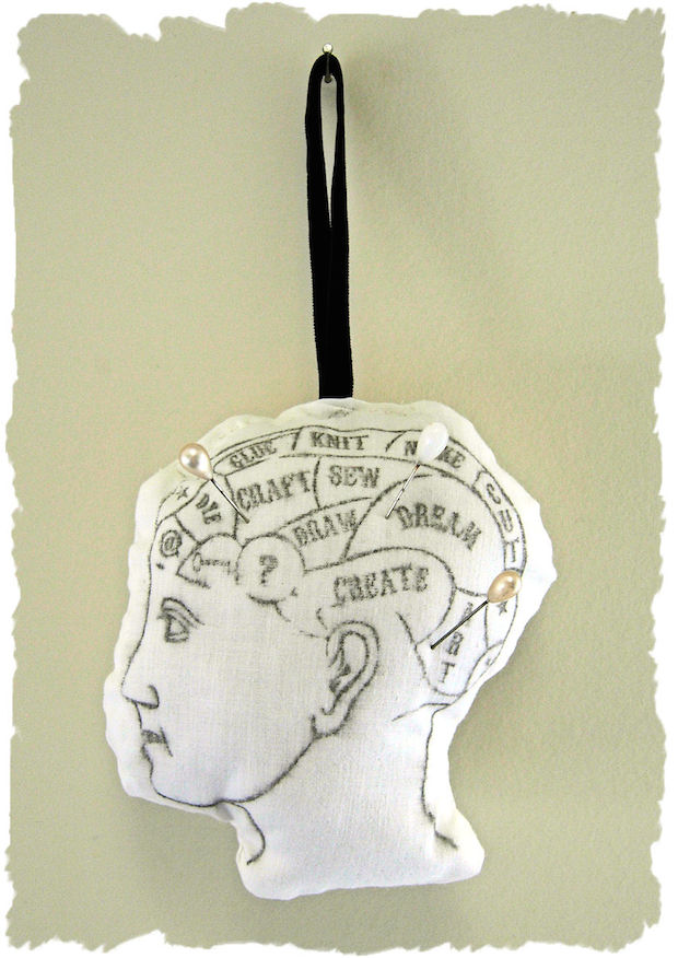 How-To: Phrenology Pincushion