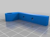 Parametric Toilet Lower Seat Hinge Bracket