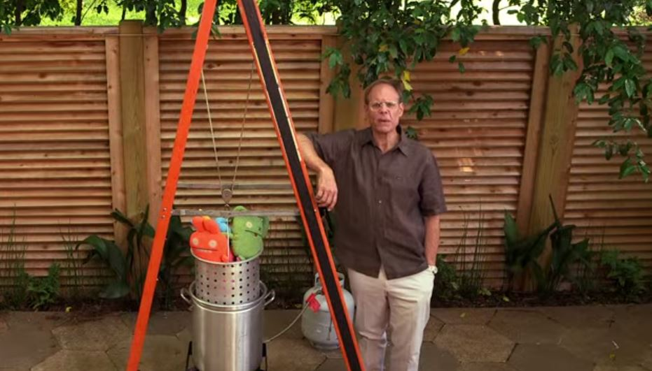 How To Make A Derrick For Turkey Frying