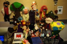 There are *always* puppets at ITP shows — they're one of my favorite things to see.