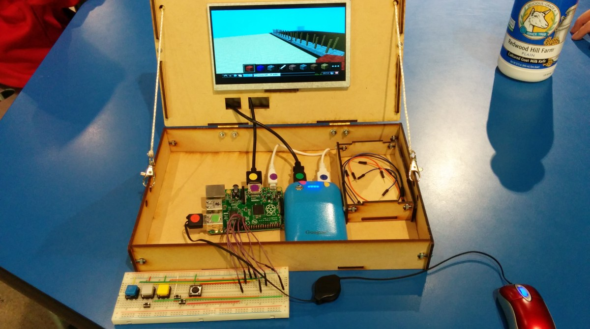 Piper: Learning Electronics with Raspberry Pi and Minecraft