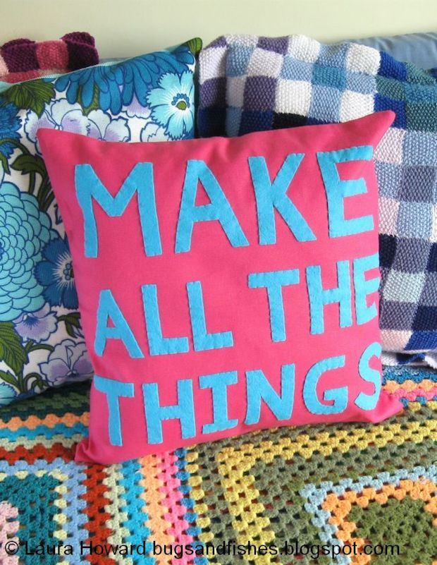 How-To: MAKE ALL THE THINGS Pillow
