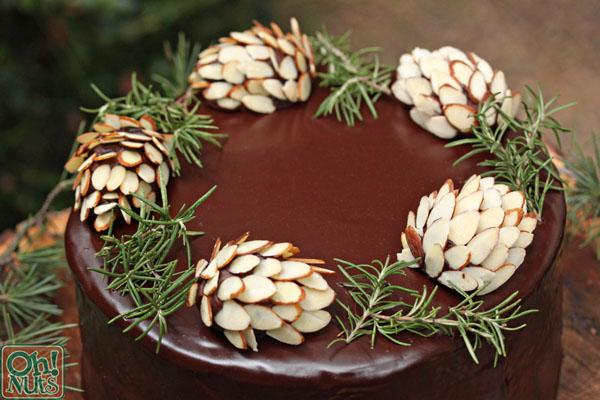 Recipe: Edible Pine Cone Cake Topper