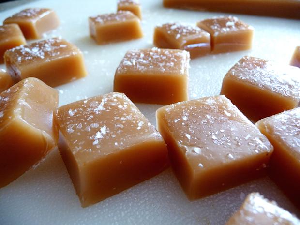 Flashback: Salted Caramels with Orange Scented Sugar